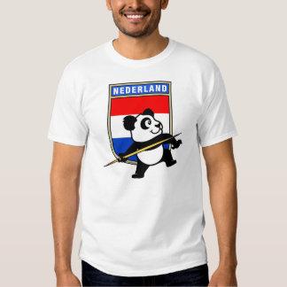 Netherlands Javelin Panda T-Shirt