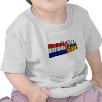 Netherlands & Limburg Waving Flags Shirt