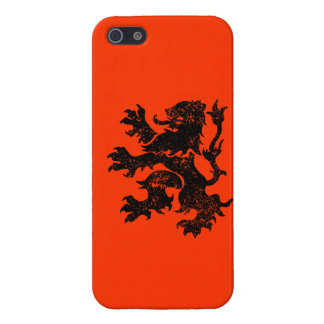 Netherlands Lion iPhone 5/5S Covers