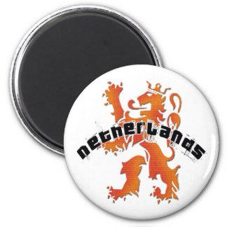 Netherlands lion logo refrigerator magnet