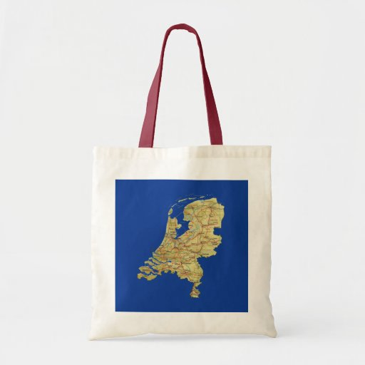Netherlands Map Bag