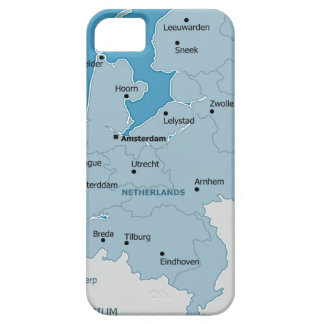 Netherlands Map iPhone 5 Covers