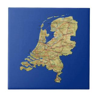 Netherlands Map Tile