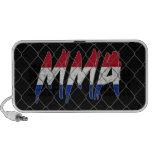 Netherlands MMA black doodle speaker