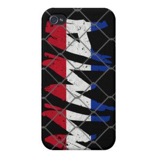Netherlands MMA black iPhone 4 case