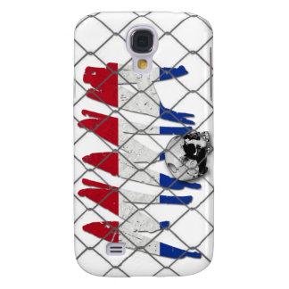 Netherlands MMA Skull White iPhone 3G/3GS Case
