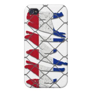Netherlands MMA white iPhone 4 case