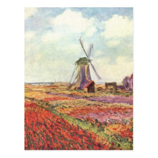 Netherlands - Monet Postcard