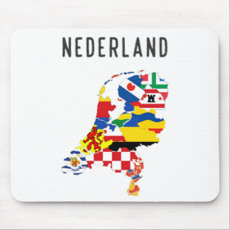 Netherlands nederland name text country regions pr mouse pad