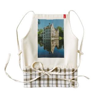 Netherlands palace zazzle HEART apron