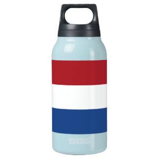 Netherlands Plain Flag Insulated Water Bottle