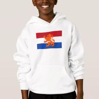 Netherlands Rampant lion Netherlands flag Hoodie