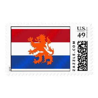 Netherlands Rampant lion Netherlands flag Postage Stamp