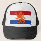 Netherlands Rampant lion Netherlands flag Trucker Hat