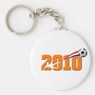 Netherlands Soccer 2010 Logo Keychains