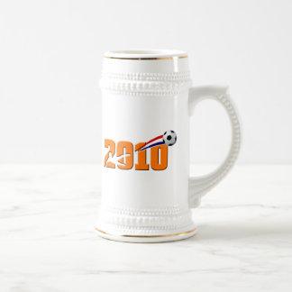 Netherlands Soccer 2010 Logo Mugs