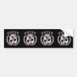 Netherlands Soccer 2016 Fan Gear Bumper Sticker