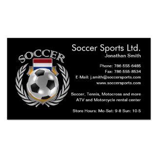Netherlands Soccer 2016 Fan Gear Business Card