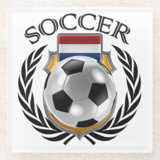 Netherlands Soccer 2016 Fan Gear Glass Coaster