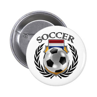 Netherlands Soccer 2016 Fan Gear Pinback Button