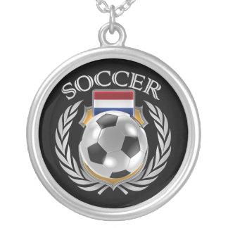 Netherlands Soccer 2016 Fan Gear Silver Plated Necklace