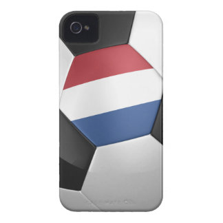 Netherlands Soccer Ball iPhone 4 Cover