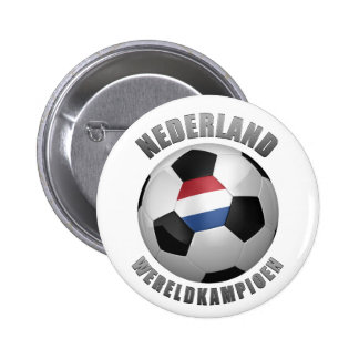 NETHERLANDS SOCCER CHAMPIONS BUTTONS