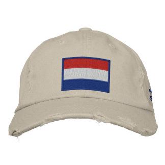 Netherlands Soccer: Nederland Football 2010 Embroidered Baseball Hat