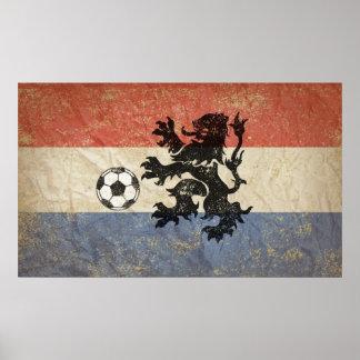 Netherlands Soccer Print