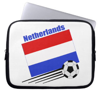 Netherlands Soccer Team Computer Sleeves