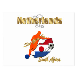 Netherlands soccer team South Africa gifts Post Card
