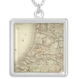Netherlands Square Pendant Necklace