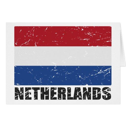 Netherlands Vintage Flag Cards