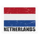 Netherlands Vintage Flag Postcards