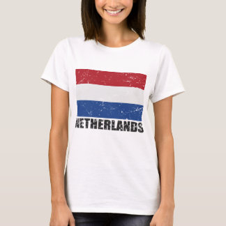 Netherlands Vintage Flag T-Shirt