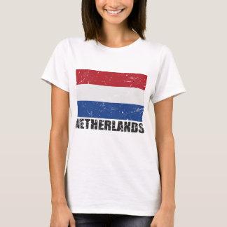 Netherlands Vintage Flag T-Shirt