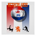 Netherlands Voetbal Poster Dutch soccer gifts