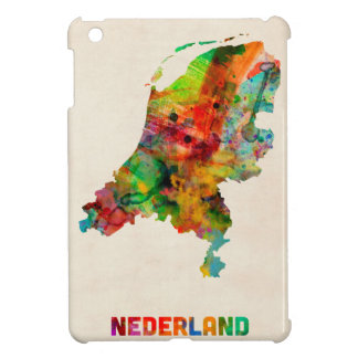 Netherlands Watercolor Map iPad Mini Case