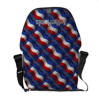 Netherlands Waving Flag Courier Bags