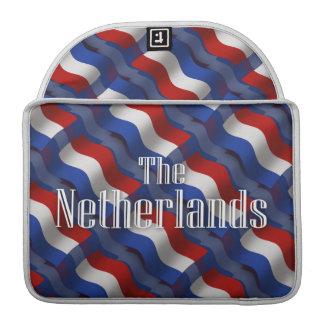 Netherlands Waving Flag Sleeve For MacBooks