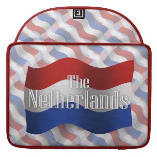 Netherlands Waving Flag MacBook Pro Sleeve