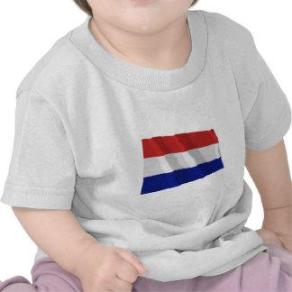 Netherlands Waving Flag Tshirts