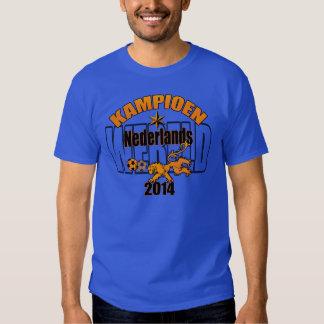 Netherlands World Champions Dutch Football 2014 Tee Shirt