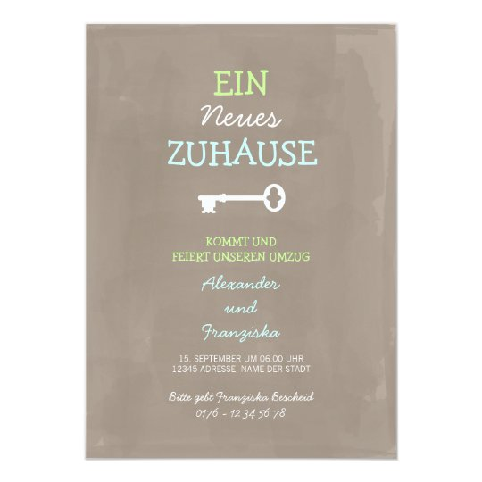 Nette Einweihungsparty Einladung Invitation Zazzle Com