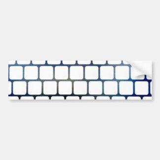 Netted Keys Bumper Sticker