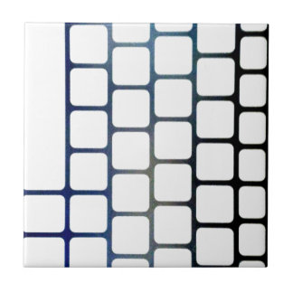 Netted Keys Ceramic Tile