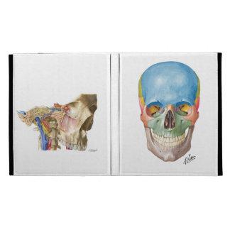 Netter and Machado Skulls iPad Folio Covers