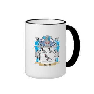 Netti Coat of Arms - Family Crest Coffee Mugs