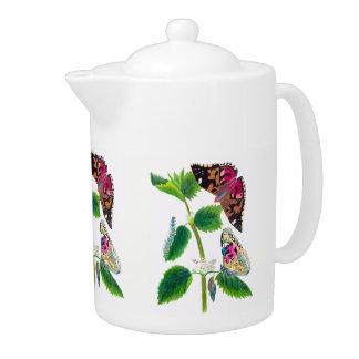 Nettle Butterflly Teapot