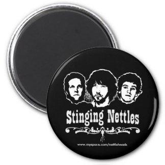 Nettles Faces Magnet